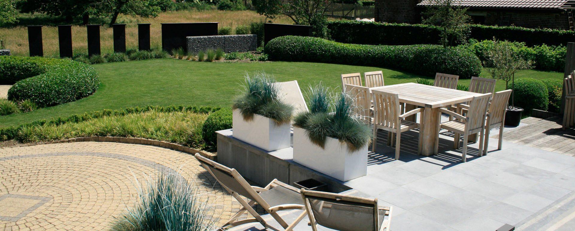Hedendaagse tuinen - Tuinconcept Mertens