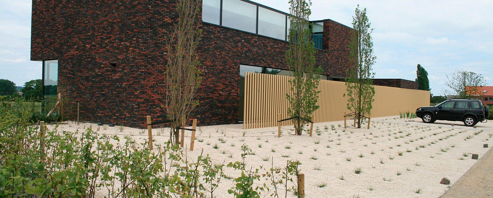 Moderne tuinen - Tuinconcept Mertens